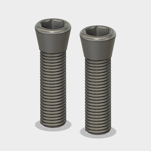 Replacement Tapered Screws for Mitee-Bite ID Xpansion Clamps