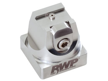 """Stainless Steel 0.75"""" Dovetail Fixture with 54mm System 3R Base"""