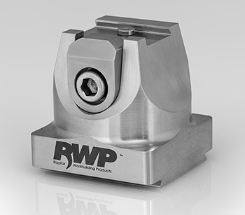 """Stainless Steel 0.75"""" Dovetail Fixture with 1.5"""" Dovetail Base"""
