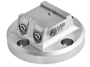 """Stainless Steel 1.5""""  Dovetail Fixture  3.8"""" Dia. BC"""