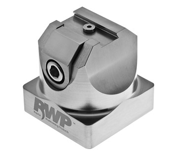 """Stainless Steel 0.50"""" Dovetail Fixturewith 54mm System 3R Base"""