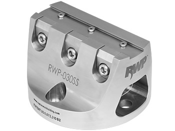"""Stainless Steel 0.75""""Dovetail Fixture  3.8"""" Dia. BC"""