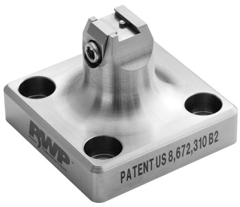 "Stainless Steel 0.281""W  x 0.0781""H Dovetail Fixture"