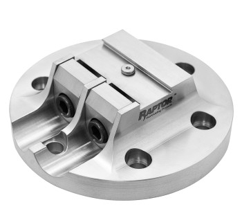 "Stainless Steel 0.75""Dovetail Fixture  3.267"" Dia. BC"