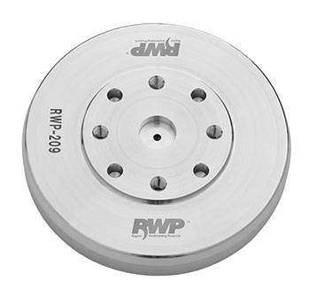 "AluminumEmergency Adapter9.055"" Diameter, 1.500"" Height"